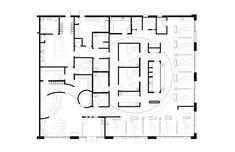 Image Orthodontics - Orthodontic Office Design by JoeArchitect in Saskatoon, Saskatchewan Medical Office Design, Healthcare Design, Hospital Floor Plan, Kids Hospital, Hospital Plans, Hospital Design, The Plan, How To Plan, Clinic Design