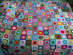 delquilter's Hundreds and Thousands granny blanket on Ravelry