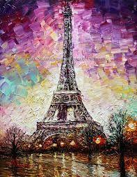 Résultats de recherche d'images pour «eiffel tower painting»