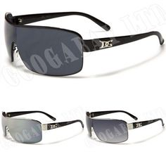 D.G mens oversized designer celeb sunglasses various colours 755 new