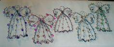 Angels staple beads
