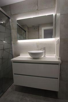reforma-vivienda-santa-pola-alicante-26.jpg (800×1200) #cuadroTRES #lavabo #TRESGriferia #spain