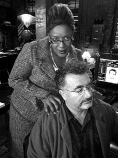 CCH Pounder and Saul Rubinek...Love them both, but CCH Pounder is just absolutely amazing!