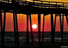 Outer Banks NC Local Artists Facebook post:  Avon Pier, 5-24-14; Photographer credit: Lemmon.