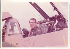 12.1974_Rocket Rakocy in cockpit