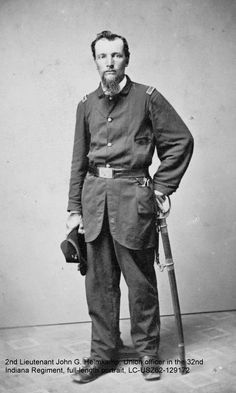 2nd Lieutenant John G. Helmkamp, Union officer in the 32nd Indiana Regiment