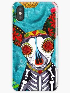Buy 'Chihuahua I' by RobiniArt as a T-Shirt, Classic T-Shirt, Tri-blend T-Shirt, Lightweight Hoodie, Women's Fitted Scoop T-Shirt, Women's Fitted V-Neck T-Shirt, Women's Relaxed Fit T-Shirt, Sticker, iPhone Case/Skin, iPhone Wallet, Case/S...