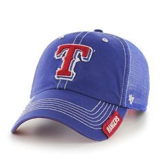 Relaxed Fit Adjustable Texas Rangers Hat