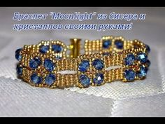 Beaded Bracelet with Seed and Bugle Beads. 3D Beading Tutorial - YouTube