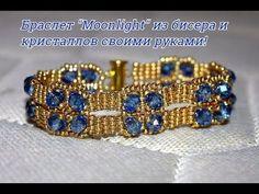 Красивый ажурный браслет своими руками. DIY Tutorial: Beautiful delicate beaded bracelet - YouTube