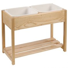Toddler Cloth Washing Stand - could be used for sand and water as well, could easily make!