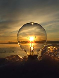 I think I just had an awesome idea! Lightbulb creativity at its best