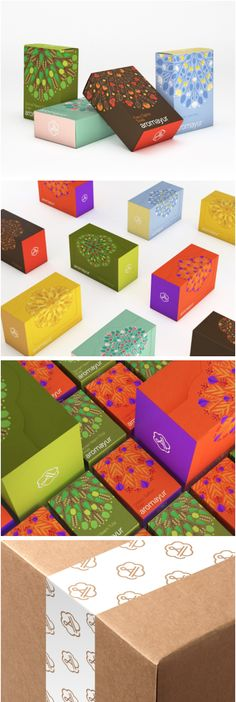 Aromayur (Concept) natural soaps packaging by Zooscope