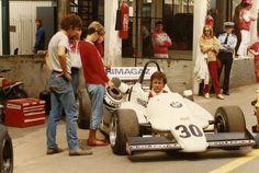 Marcel Tarrès, Martini Mk43 BMW / Heini Mader Racing Components, Marcel Tarrès, Grand Prix de Pau, 1984. Hill climb car with not enough fuel capacity to complete the race distance.