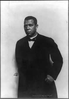 Booker T. Washington  Founder of Tuskegee Institute  now Tuskegee University