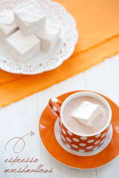 Espresso Marshmallows - Recipe Included.