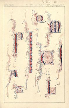 """""""The art of illuminating as practised in Europe from the earliest times"""", Illustrated by borders, initial letters, and alphabets, selected & chromolithographed by W. R. Tymms. With an essay and instructions by M. D. Wyatt, archt., published 1866 by Day in London"""