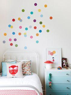 Vinyl Polk-a-dots! | Sassy Steals