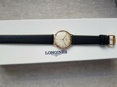Longines Vintage 50's 18K Solid GOLD ORO 18K Very nice watch Just Overhauled Cool Watches, Solid Gold, Nice, Ebay, Accessories, Vintage, Vintage Comics, Nice France, Jewelry Accessories