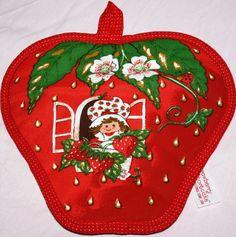 Strawberry Shortcake Pot Holder, $14
