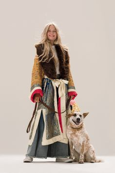 Destination Unknown Coat | Beautiful statement coat pieced with multi-colored jacquard fabric with embroidered detailing. * Removable faux fur collar * Adjustable tie waist * Hip pockets * Side vents * Lined