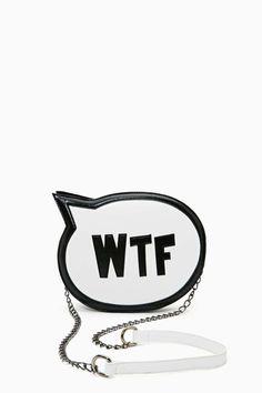 Nasty Gal SRSLY WTF Bag