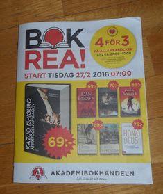 Boklysten: BOKREA 2018 - Akademibokhandeln