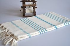 Turkish bath towel- love these