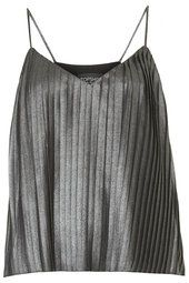 Metallic Pleat Cami