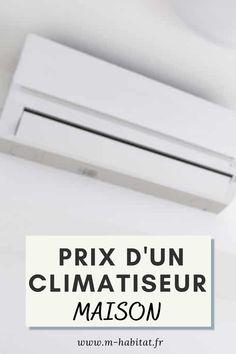 Climatisation pour votre maison : prix d'un climatiseur. #climatisation #maison #climatiseur #gainable #chauffage #installation #centrale #plafond Ceiling