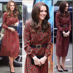 Vanessa Seward dress. Borrowed from her nan no doubt