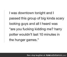 Harry Potter vs. Hunger Games