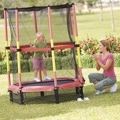 "Sportspower My First Trampoline with Enclosure - Sportspower - Toys ""R"" Us $99.99"