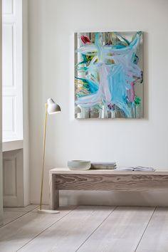 White floor lamp for interior decor | InteriorDesign #Decor #FloorLamp…
