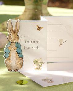 Peter Rabbit partido convidar
