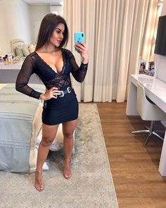 Sexy Dresses, Formal Dresses, Elegant Outfit, Boutique, Dress Codes, Casual Chic, All Black, Bodycon Dress, Beautiful Women