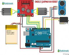 Guided combustion with Arduino – NEEKO Cool Arduino Projects, Arduino Circuit, Rc Car Remote, Arduino Programming, Robot Kits, Electronics Projects, Diy Electronics, Facebook Sign Up, Buick Roadmaster