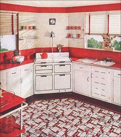 87 best 1930 kitchen images vintage kitchen vintage stove 1930s rh pinterest com