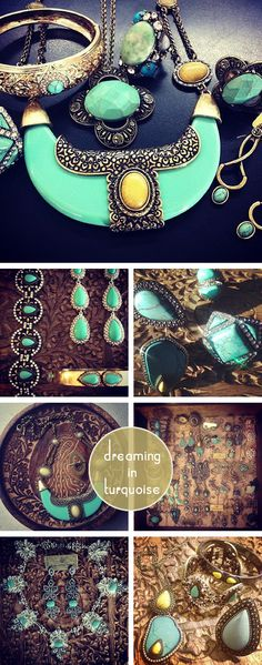 My favourite... Turquoise splendour -by Samantha Wills