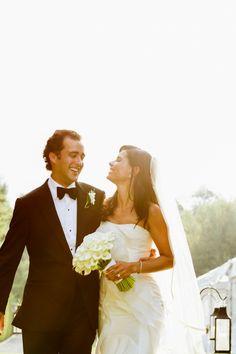 A Hamptons Backyard Wedding | The Hamptons Weddings | Photography by Berit Bizjak of Images by Berit | The Hamptons Wedding Photographer | Bride and Groom | @kimjondesigns