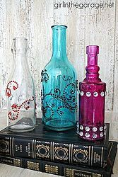 Bejeweled Bottles {Pinterest-inspired Craft From Michaels}