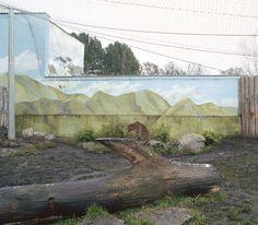 Jakub Skokan documents artificially constructed zoo landscapes - designboom | architecture