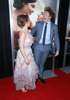 It's impossible not to ship Emilia Clarke and Sam Claflin.