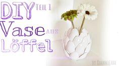 Diese Dekoideen zu Ostern werden die Lieblingsprojekte deiner Kinder sein  - DIY Vase aus Löffel Check more at http://diydekoideen.com/diese-dekoideen-zu-ostern-werden-die-lieblingsprojekte-deiner-kinder-sein/