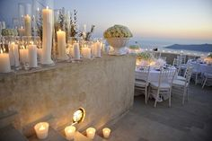 night beach wedding