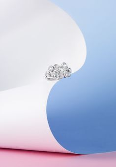 Boodles 'Raindance' is a dazzling splash of brilliance. The collection was inspired by gleaming raindrops gliding down a marble sculpture. It has reached such iconic status that the Victoria & Albert Museum selected the Raindance ring as an enduring example of British jewellery design.
