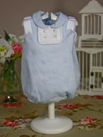 yoedu wimp blue dress with classic style for baby boy and girl summer