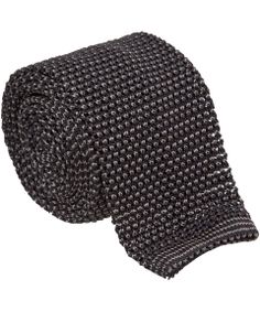 Nick Bronson - Birdseye Silk Knitted Tie - Charcoal/Beige http://www.liberty.co.uk/fcp/product/Liberty//Charcoal-Birdseye-Knitted-Silk-Tie/102591