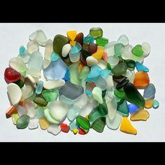 sea glass found on the beaches of the Mediterranean Sea, Italy  #seaglass…