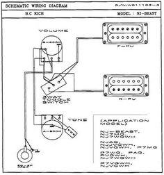Seymour Duncan P-Rails wiring diagram - 2 P-Rails, 2 Vol, 2 Tone ...
